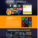 Шаблон сайта-одностраничника Новогодний лазерный проектор